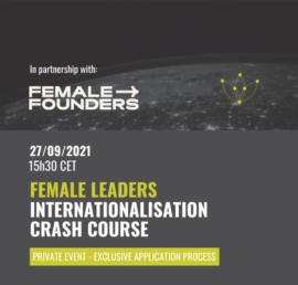 Female Leaders Internationalisation Crash Course