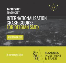Internationalisation Crash Course for Belgian SME's